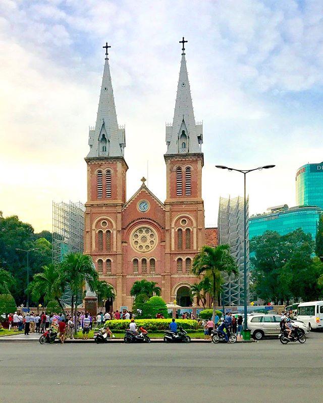 Notre Dame, Saigon! ... ... ... #notredame #saigon #hochiminhcity #vietnam #visitvietnam #southeastasia #condenasttraveler #bbctravel #lonelyplanet #travelandleisure #natgeotravel #travel #instatravel #travelgram #photography #travelphotography #photooftheday #picoftheday