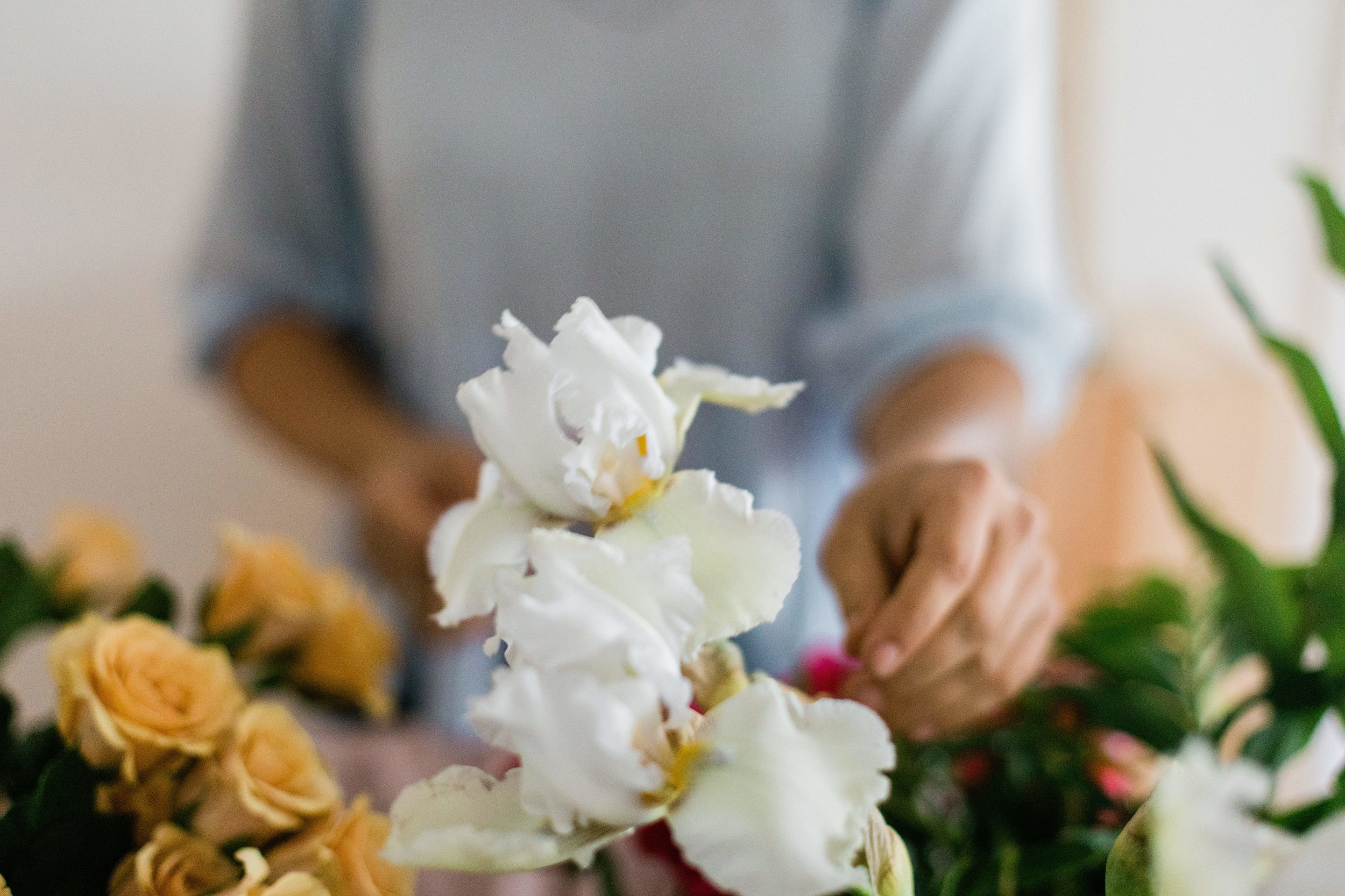WORKSHOPS - Hosting a small gathering or other event and looking for a fun activity? We work with you to design a private, flower based workshop and bring everything to you. Contact Us