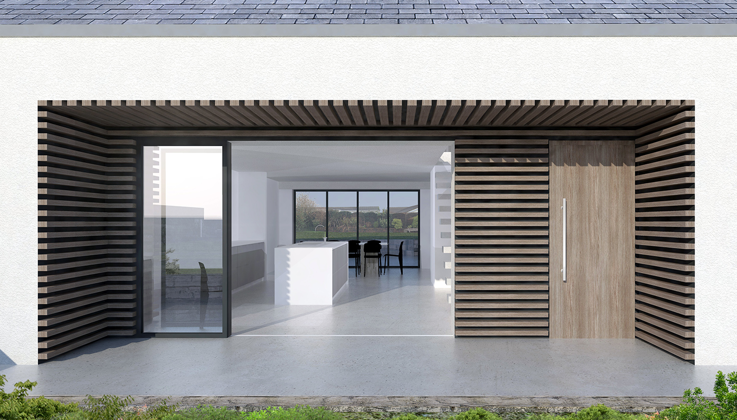BETHUNE COTTAGE - A bespoke contemporary cottage for a client and their family.
