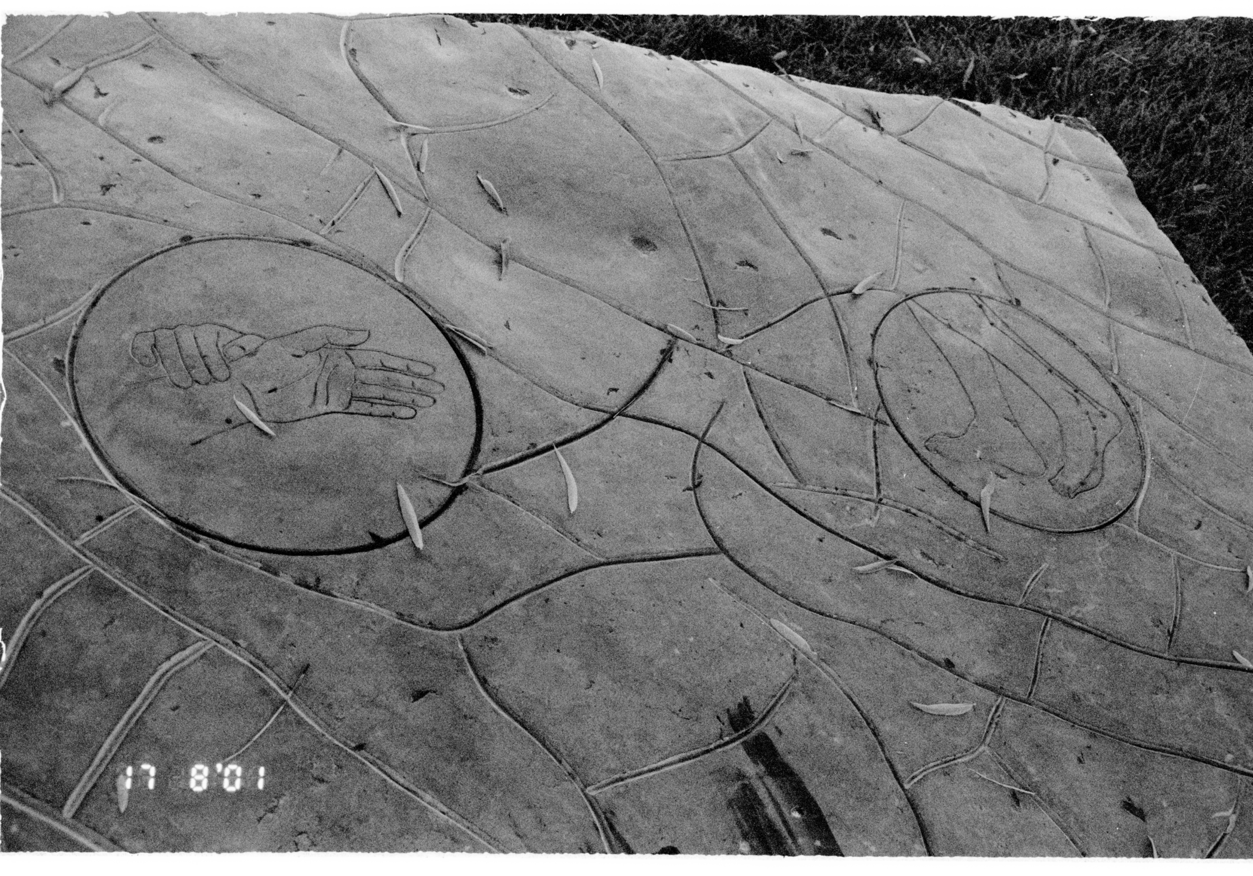 Middle Ground; Body. 2000. Permanent Collection of Yanqing County, Beijing, P.R. China. Public furniture series produced in carved granite in collaboration with stone craftsmen of Shandong Province.
