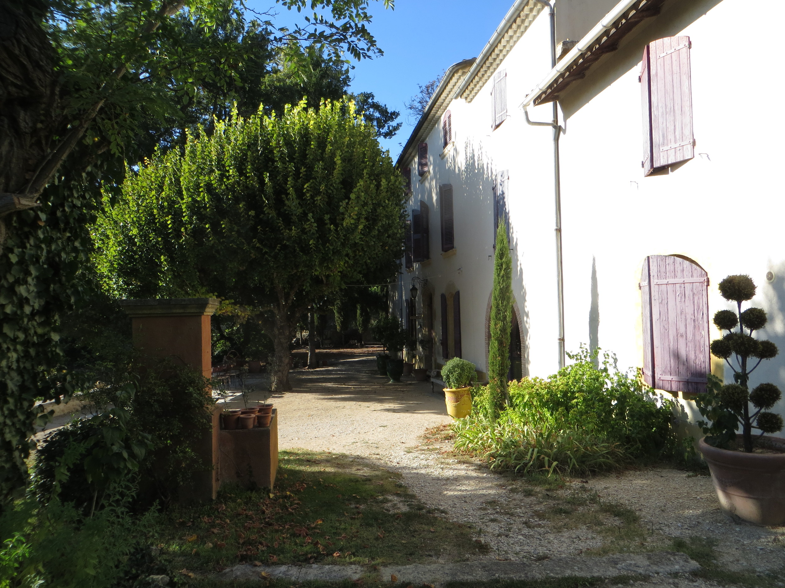 La Tuiliere facing south