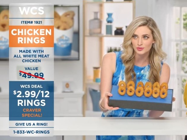 Chicken Rings Shopping Channel