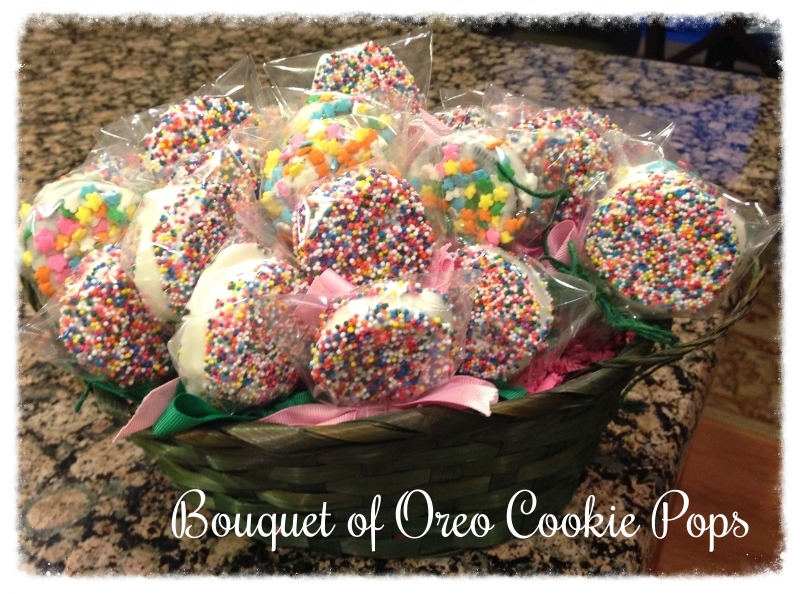 Oreo Cookie Pops Bouquet
