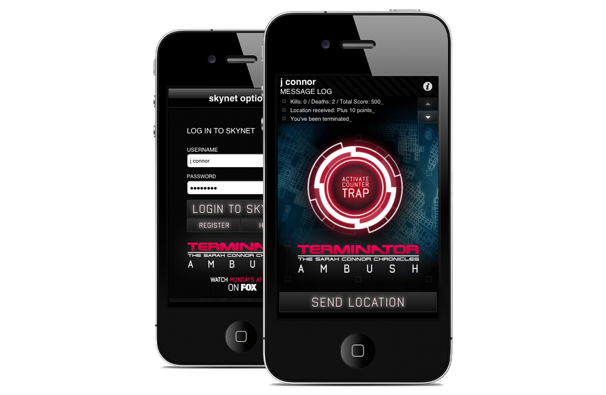 Terminator - The first iPhone game to utilize GPS built for The Sarah Connor Chronicles on Fox