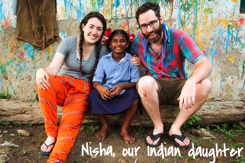 We were so excited to be reunited with Nisha- the FIRST child of the Pillalu home whom we've been supporting as a family now for 5 years. They call her our Indian daughter <3