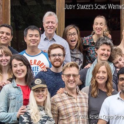JUDY STAKEE SONGWRITING RETREAT: LIZ ATTENDED A SONGWRITING RETREAT IN FRANCE LEAD BY JUDY STAKEE! BLAST!