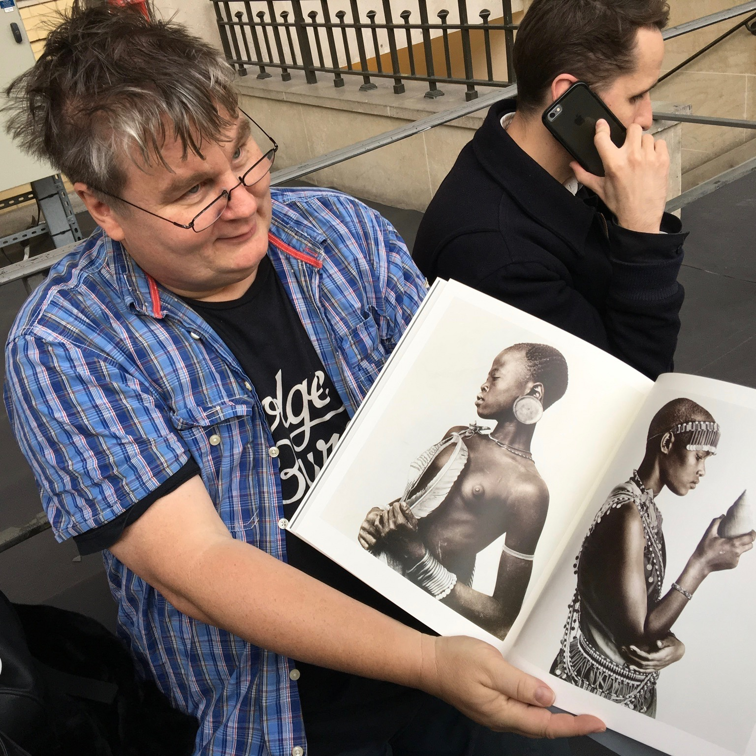 PHOTO PARIS: JAN BROUGHT OUT HIS FIRST EVER BOOK AT PHOTO PARIS THIS YEAR AND WE WERE HONORED TO GO AND SUPPORT HIM!