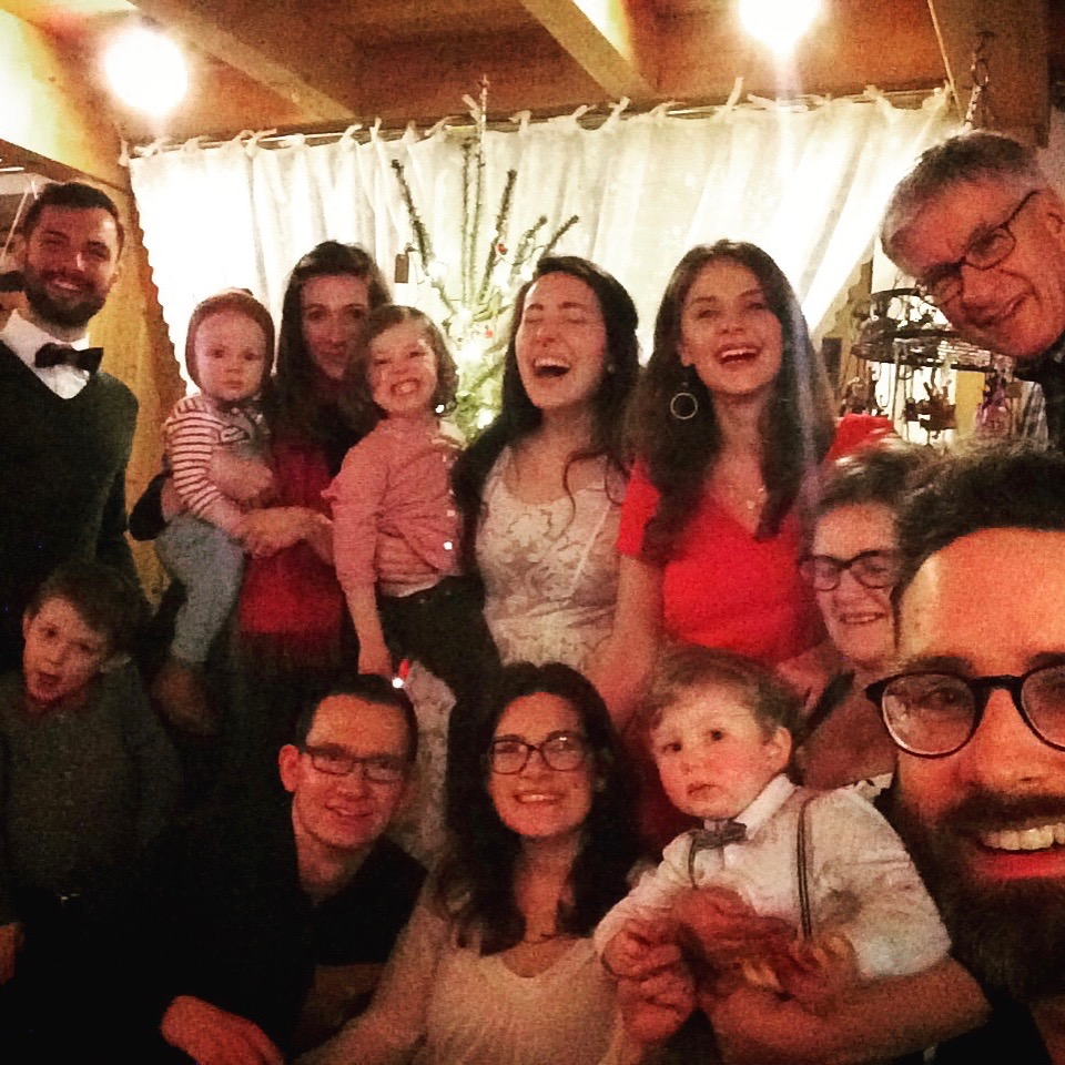 FAMILY FOR THE HOLIDAYS: IT WAS MAGICAL HAVING SO MANY PEOPLE FROM OUR FAMILY HERE IN GERMANY FOR THE HOLIDAYS. OUR NEPHEWS FROM AMERICA HAVE NEVER BEEN HERE! WHAT A TREAT!