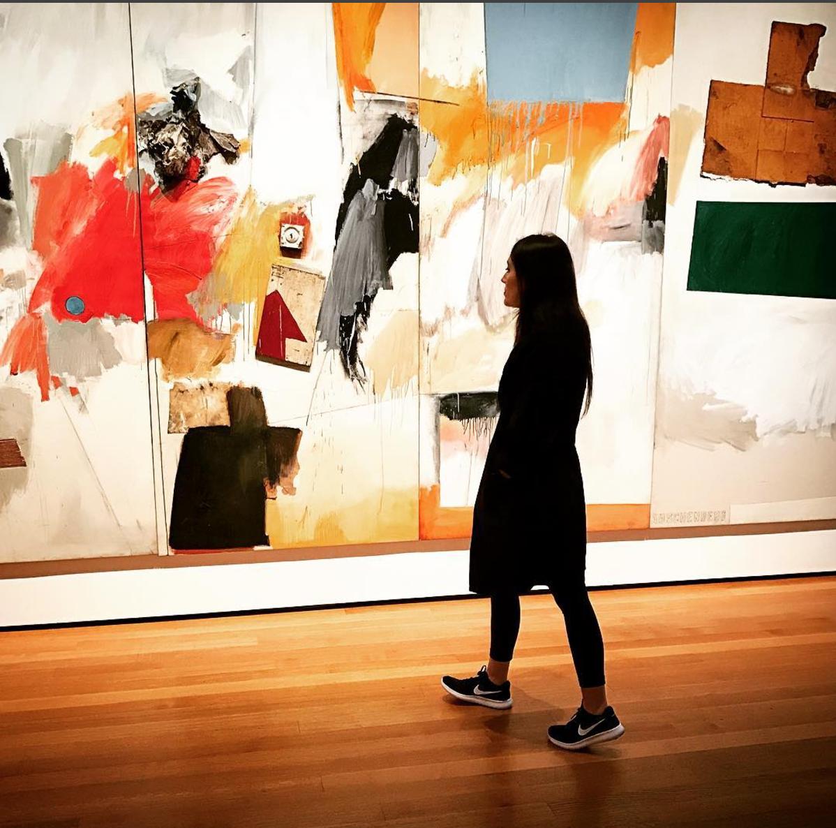 Me at MOMA in New York last week.