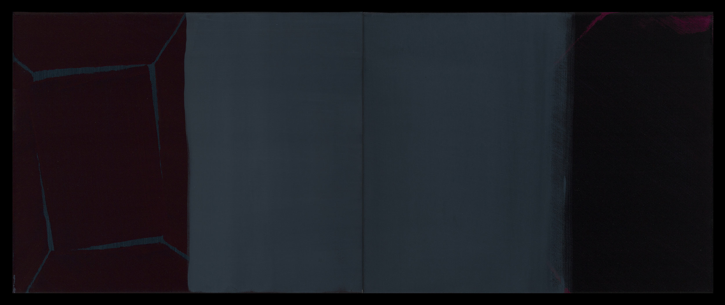 2018, 40x100 cm,  oil on canvs