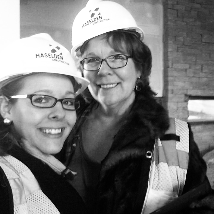On the UW Gateway Center site with my mom. A proud moment with one of my biggest inspirations.