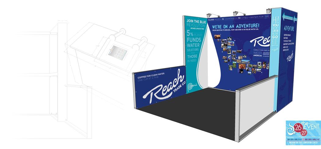 SCAA 2014/2015 booth design