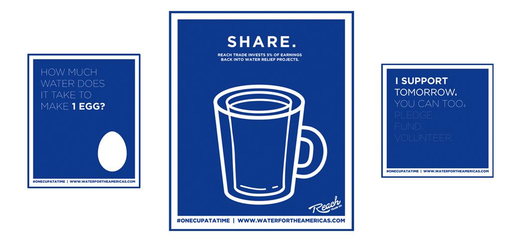 Social media graphics for sharing  |  design & copywriting