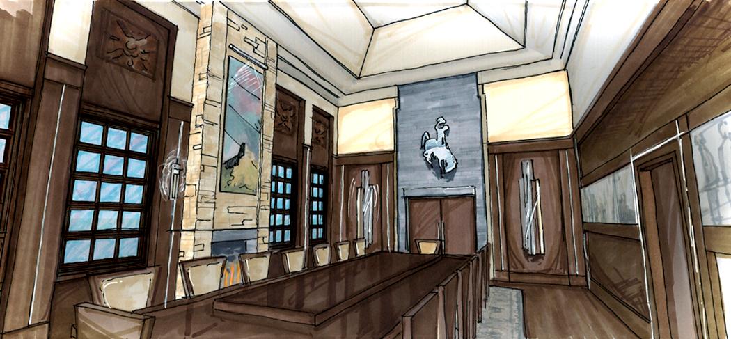 President's Room design