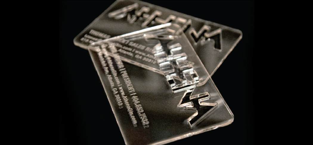 """""""Ice"""" cold business cards  
