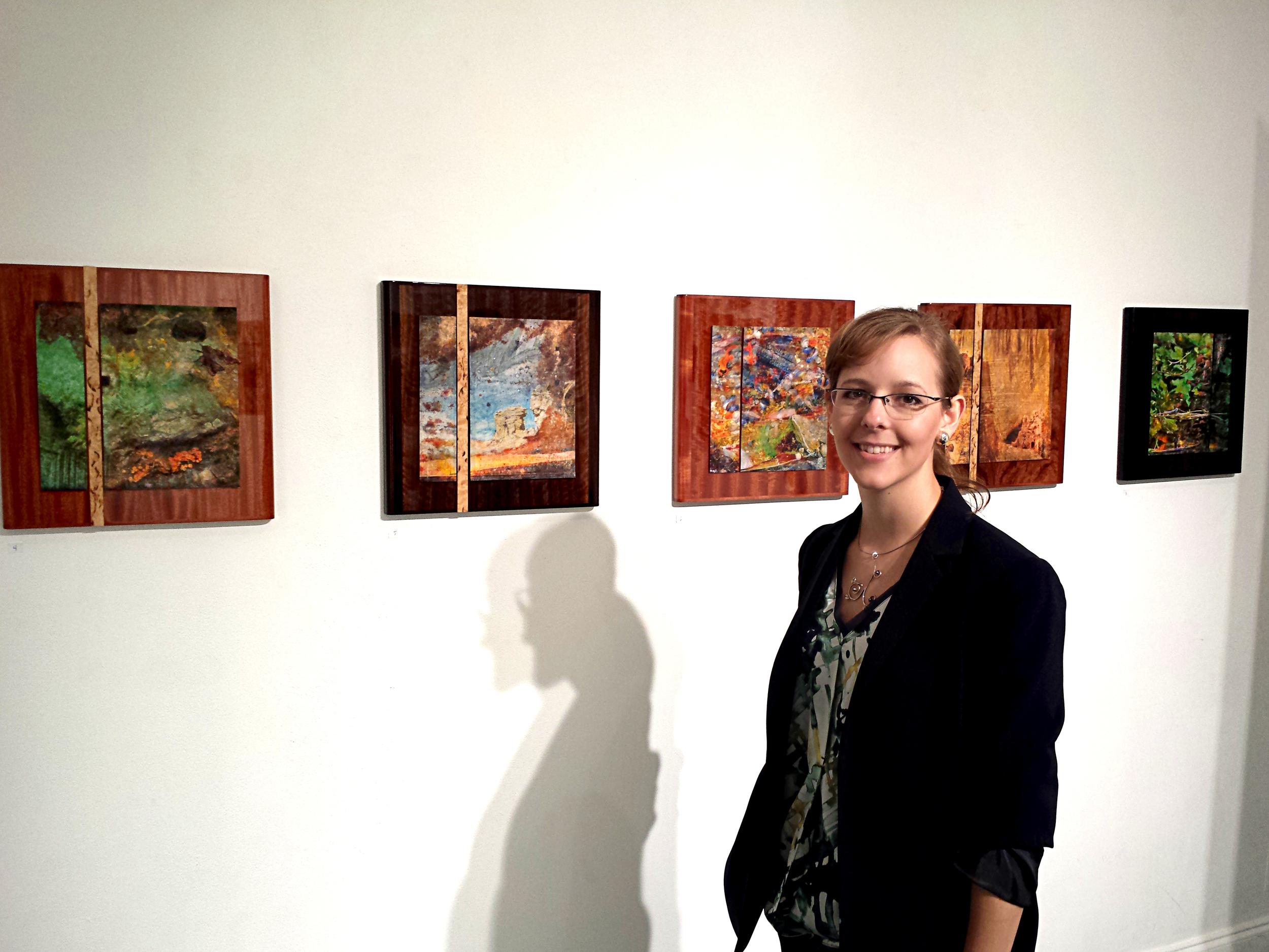 Installation image, Con-tex-ture , solo exhibition 2014