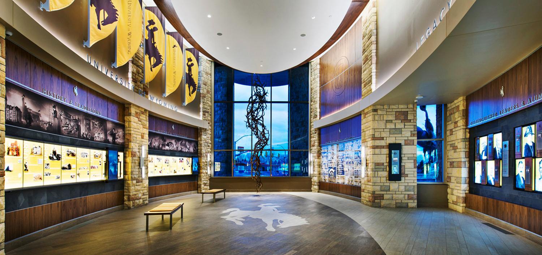 Installation image of the UW Legacy Hall