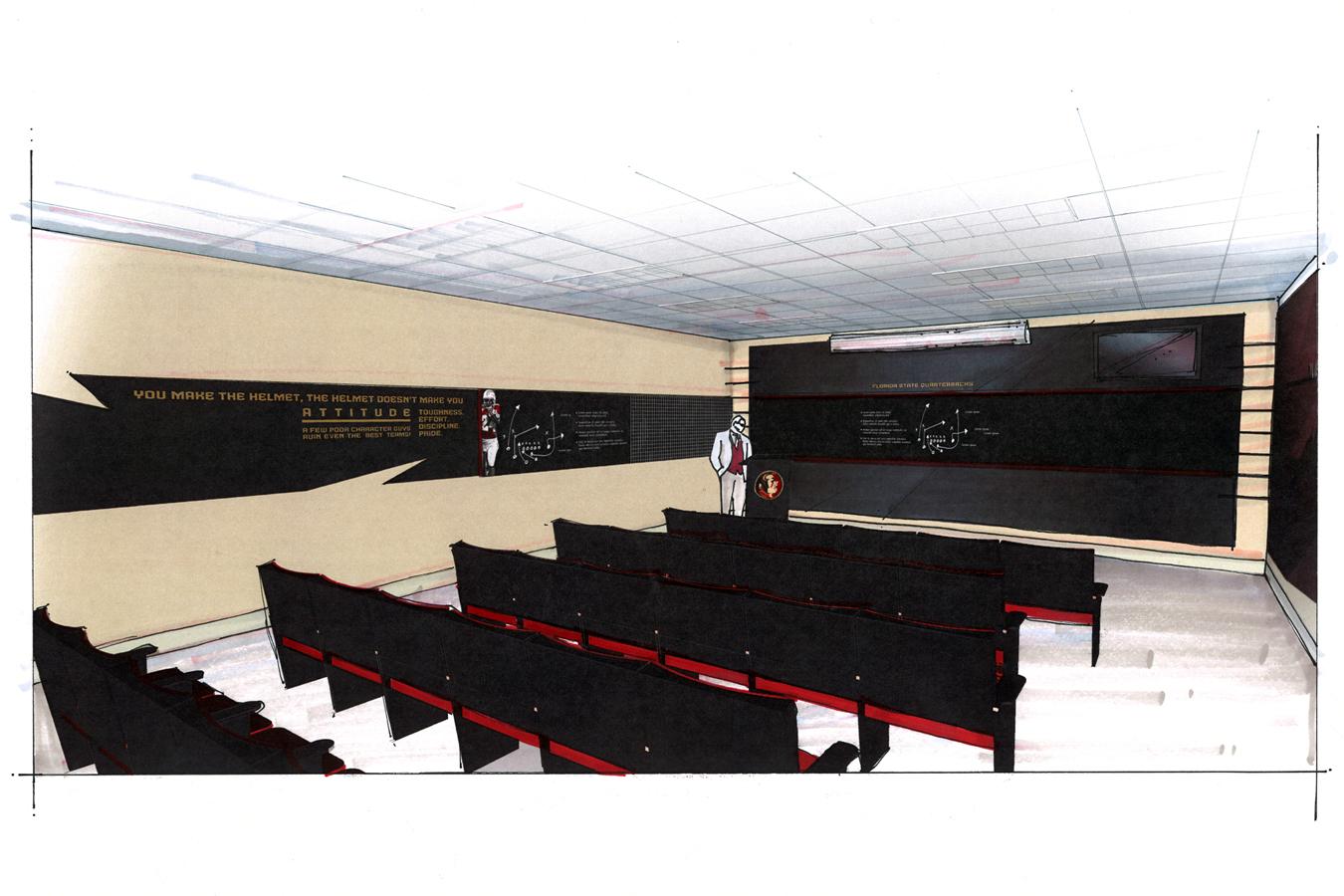 Meeting room concept design
