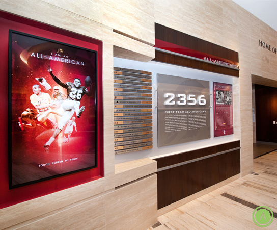 All-American display | Project by Advent