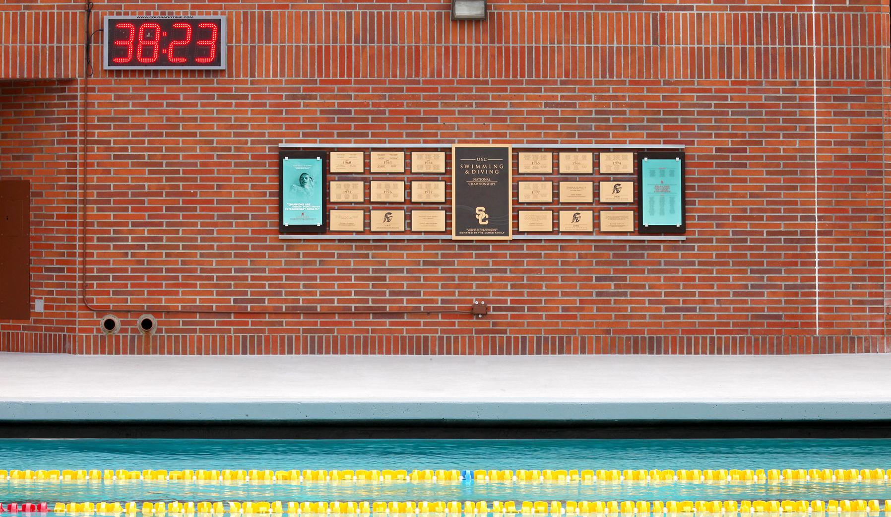 Uytengsu Aquatics Center installation image: Swimming and Diving National Championships