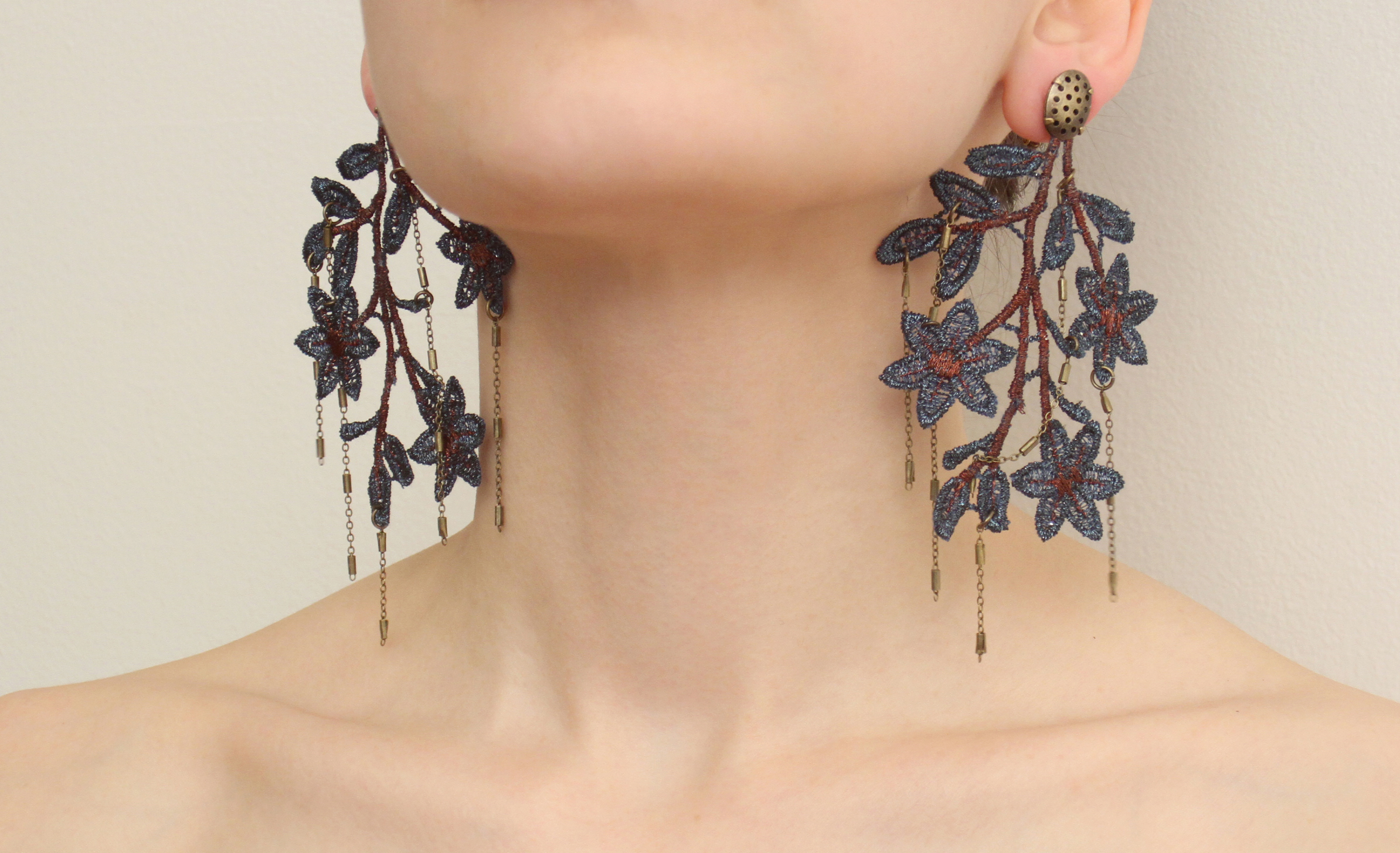 Seasons: Fall; long earings