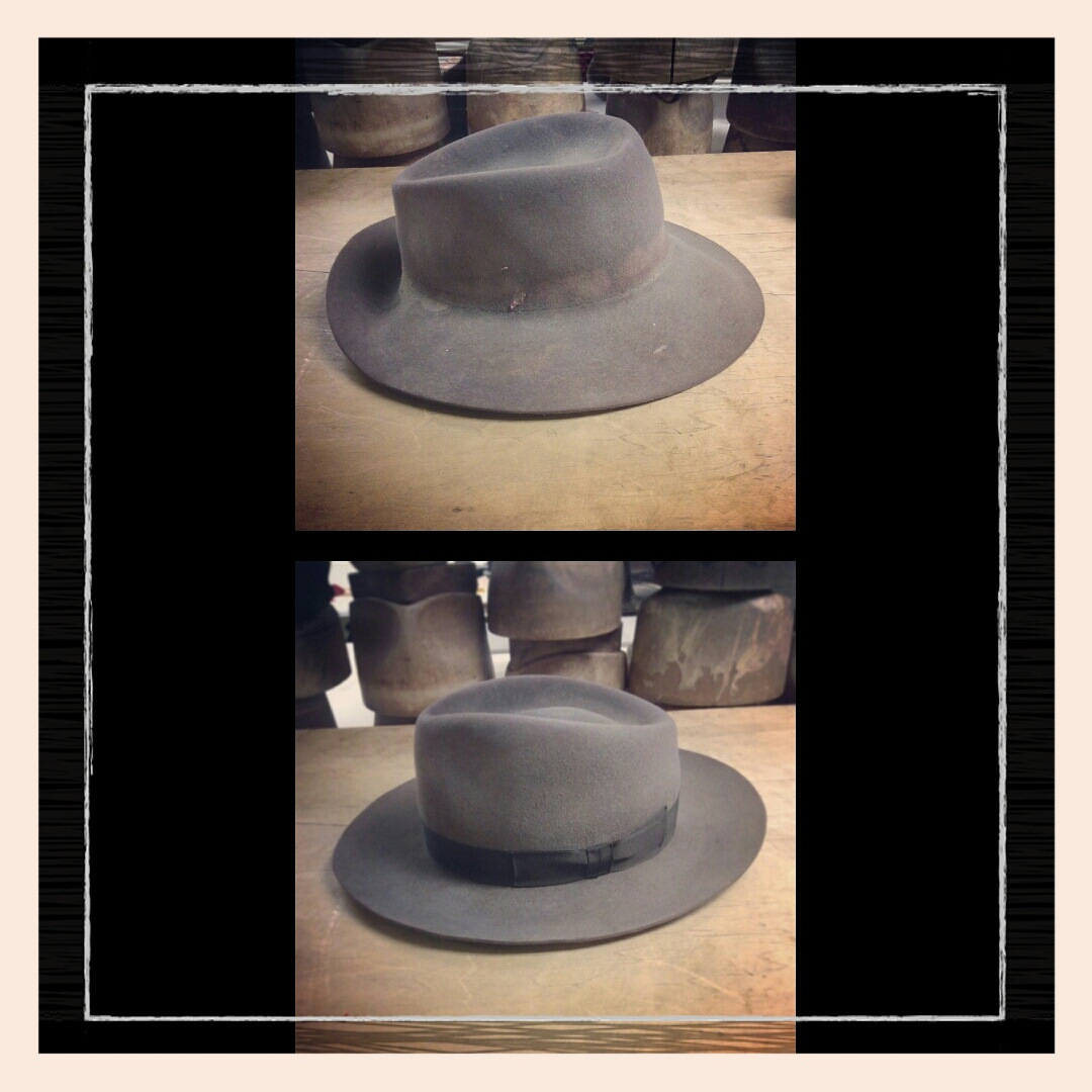 A before and after of a full hat refurbishment!