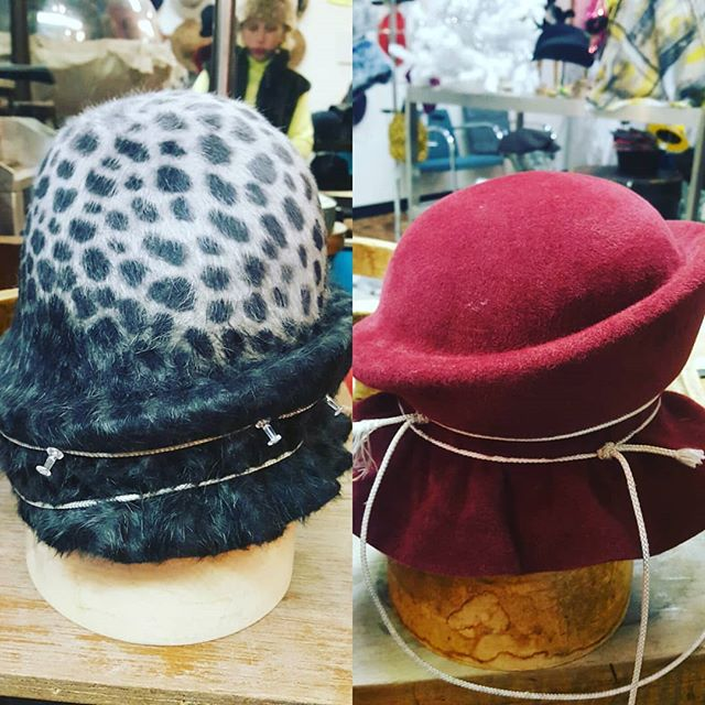 Finishing up holiday #hat orders! 'Tis the season to be thoughtful about purchasing high quality items that are made to last. #thegiftthatkeepsongiving