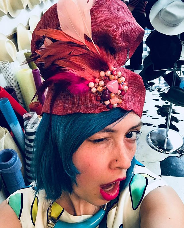 Happy #TURBY! 🐎👒💕 #turban  #kentuckyderby #derbyfashion