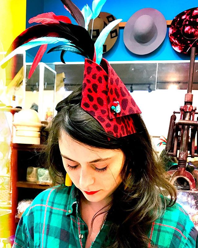 Open and making #fascinators! Come in for your last minute #kentuckyderby lewks!  #derbyfashion