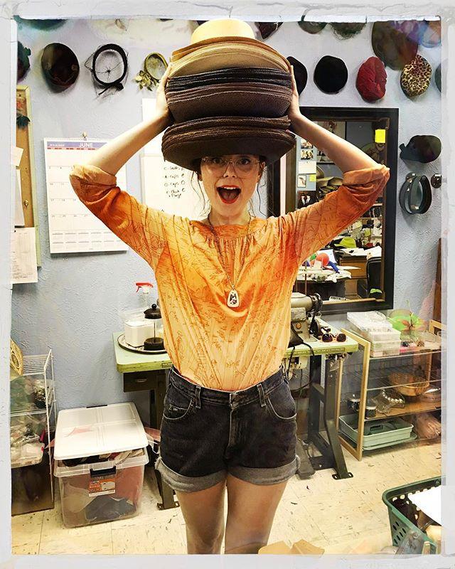 100 #hats in 14 days! #endlessderby