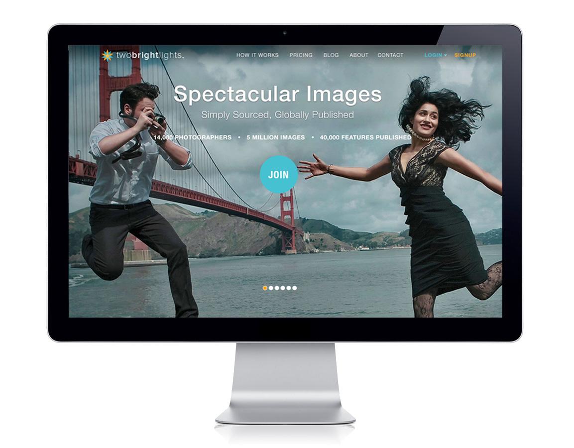 Public Website Redesign: Homepage.