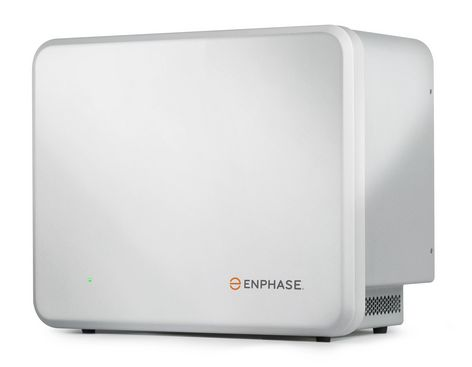 The enphase AC battery designed for use with micro inverters