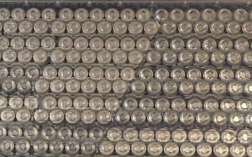 Stacks of lithium cylinder battery cells are used in many home battery systems