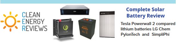 See how the deep cycle VRLA batteries compare to the leading lithium battery systems available