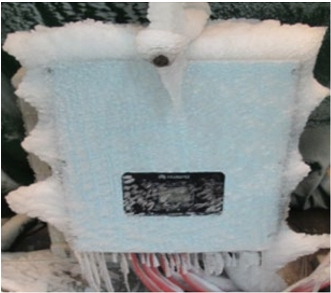 Extreme temperature testing - Freezing -40 degC