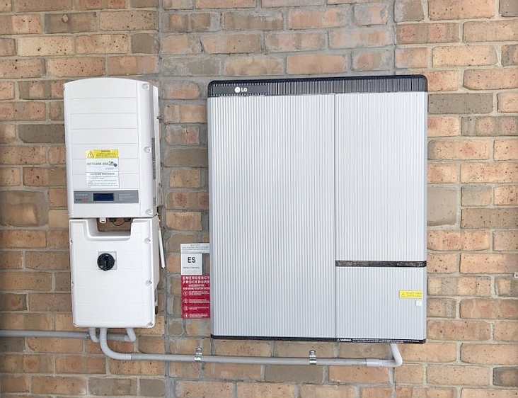 Home battery system using the LG chem RESU-H battery and SolarEdge inverter - by    Skyline Solar