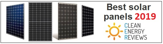 See that latest review the best performing and highest quality solar panels of 2019