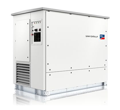 The SMA Sunny Central - Central Inverter for large MW utility scale solar plants.