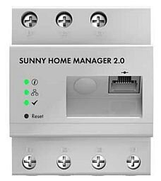 The (expensive) SMA sunny home manager 2.0 energy meter