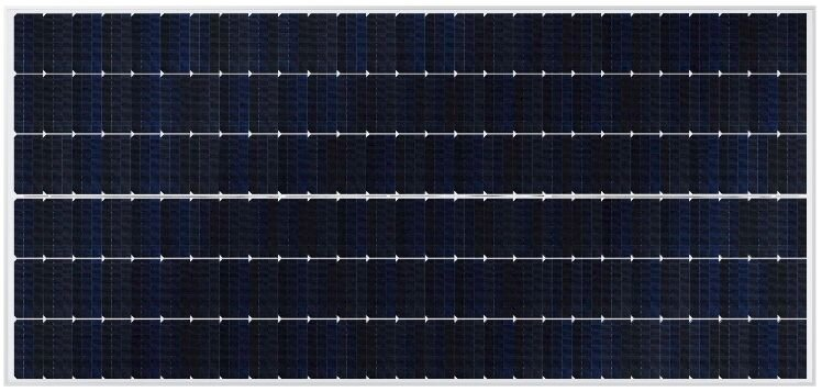 SunPower P19 series panels uses the verticle shingled cell format up to 405Wp.