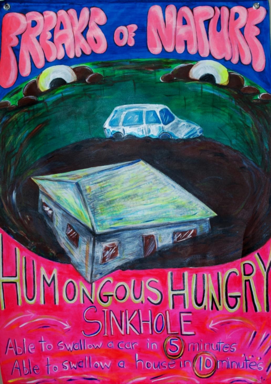 Hungry Sink hole
