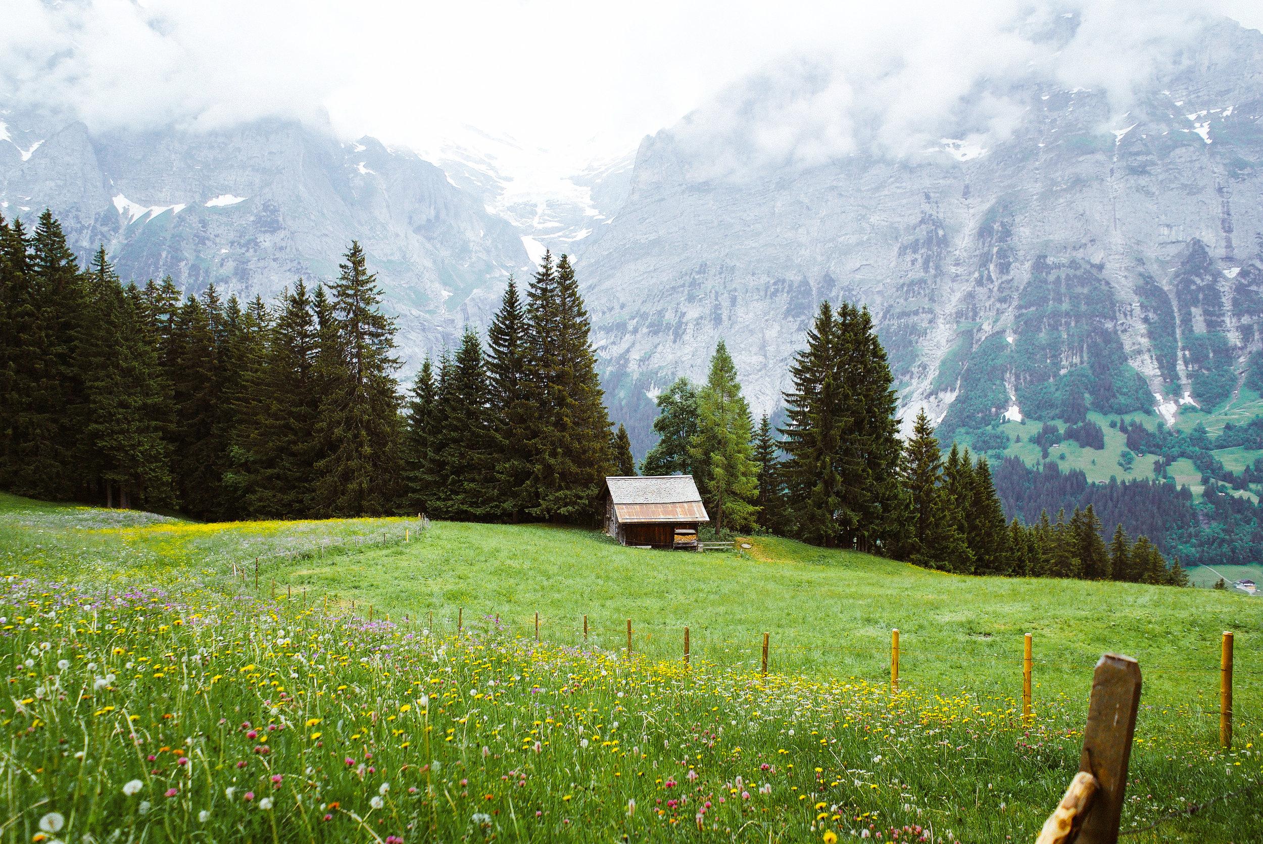 The Eiger, Bernese Alps, Switzerland