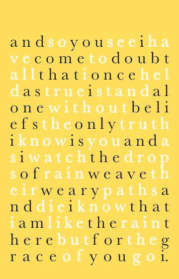 Simon and Garfunkel lyrics