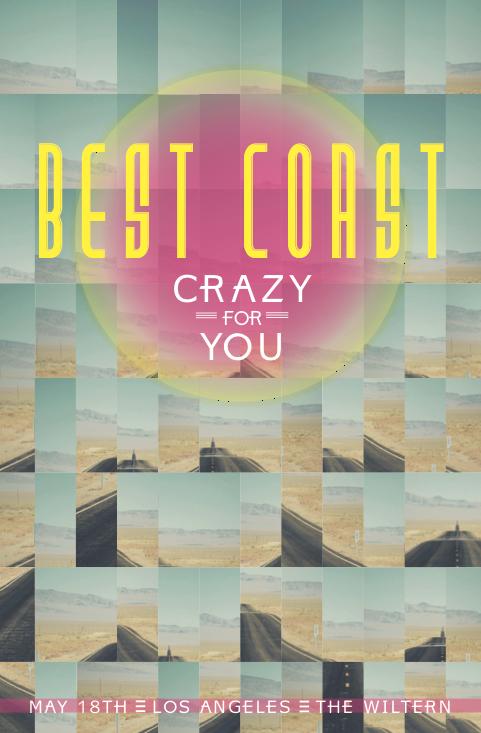 Best Coast  music poster