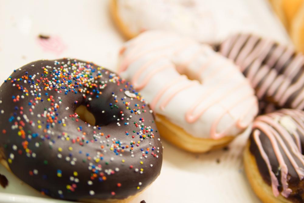 Assorted Glazed Donuts