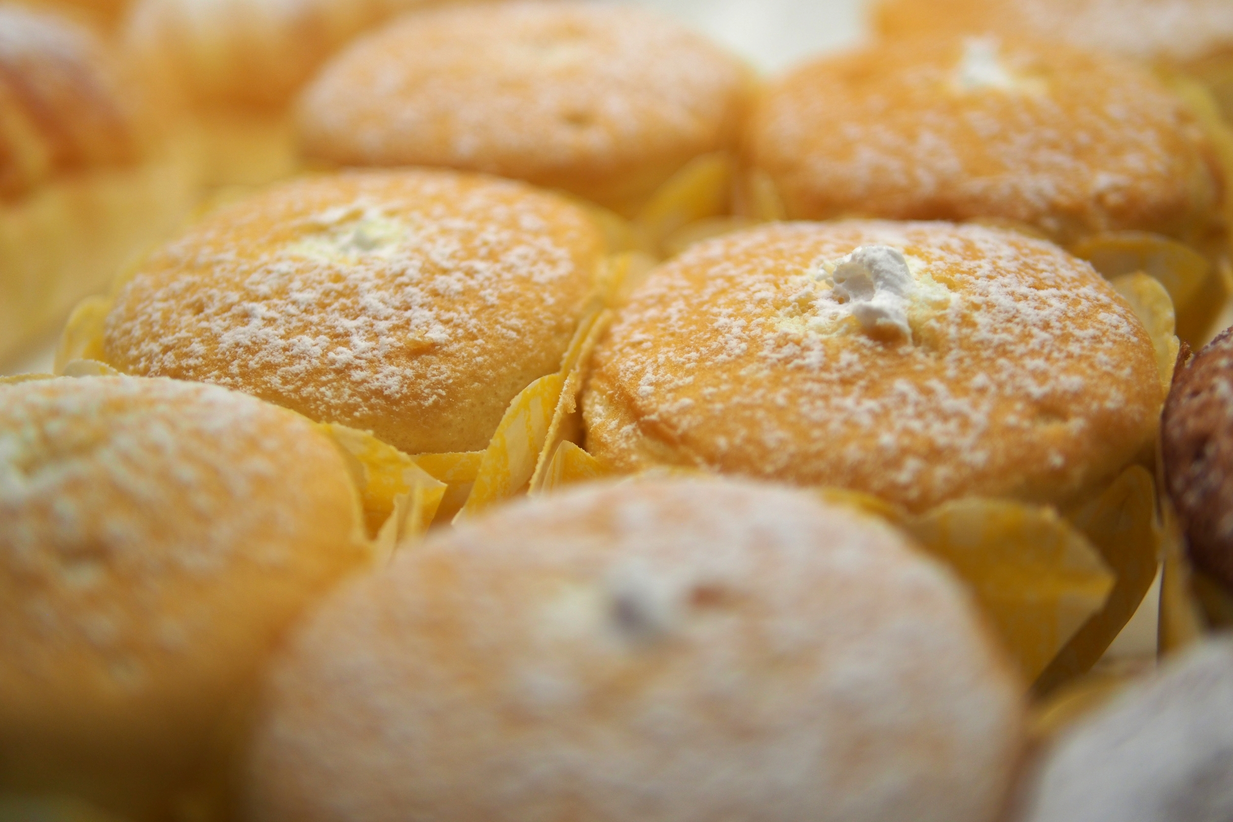 Vanilla Hokkaido Cupcake