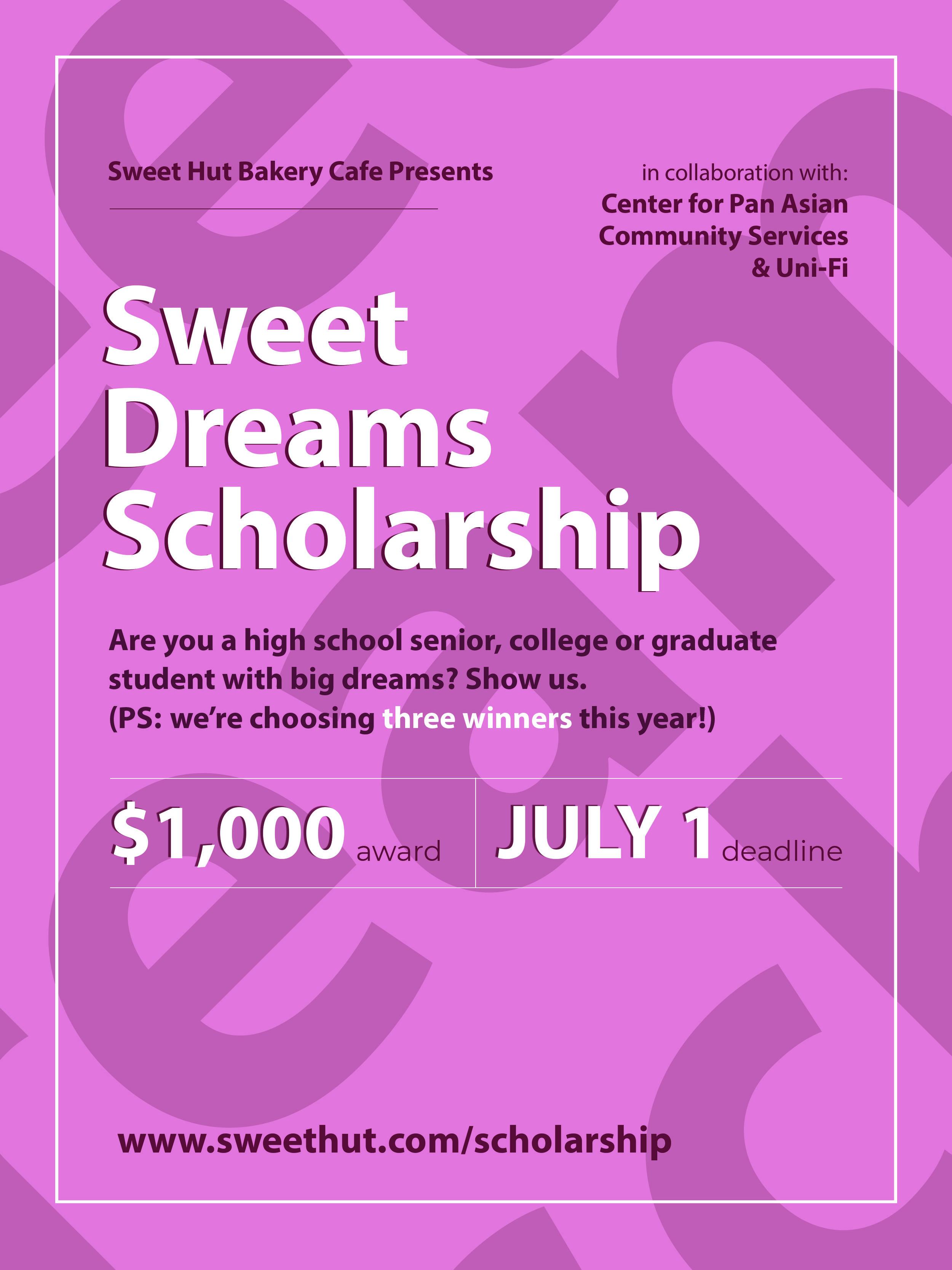 Sweet Hut Scholarship Flyer.jpg