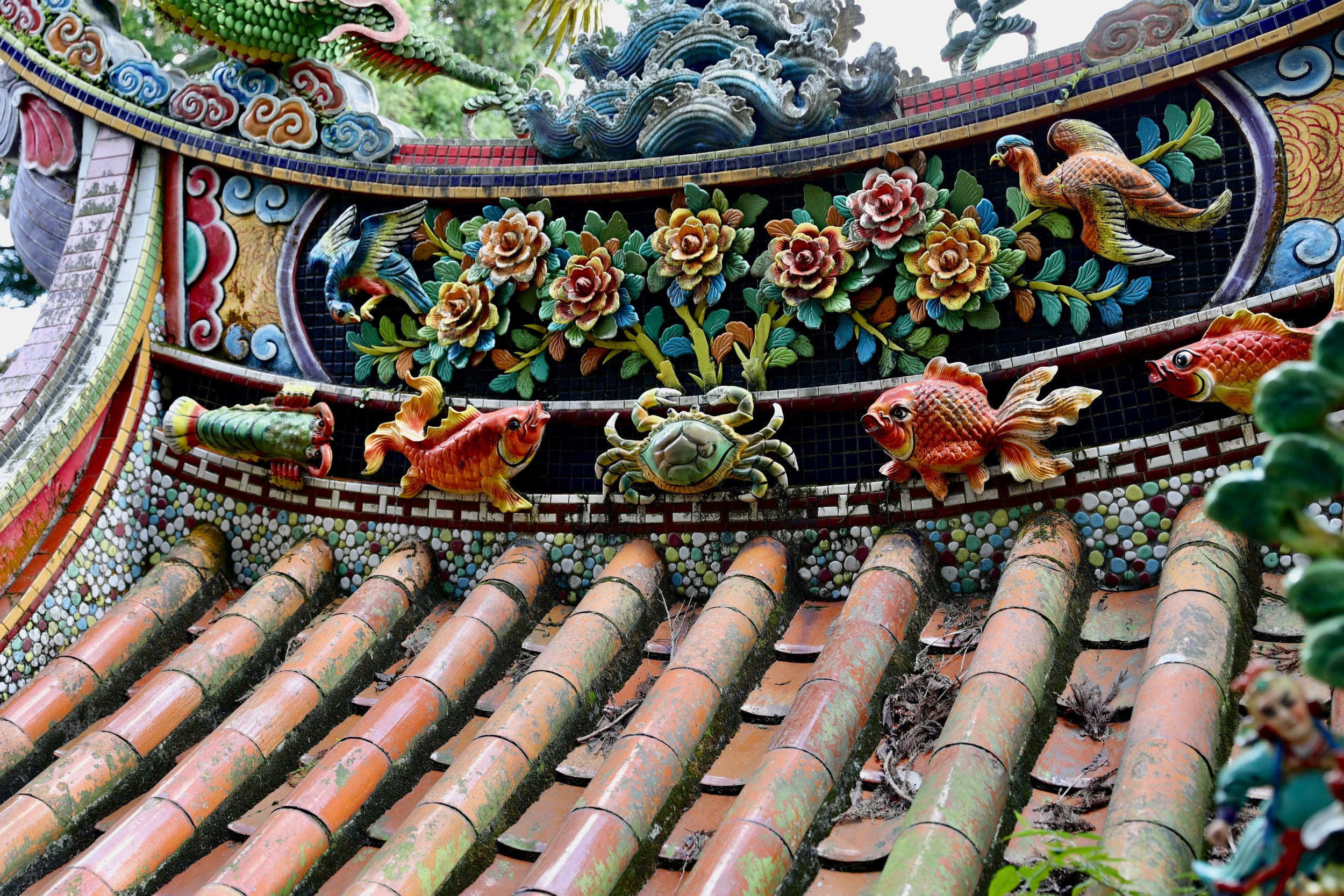 Earth Temple in Yangmingshan National Park.