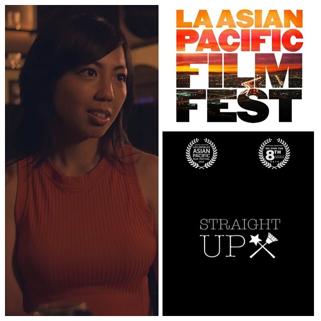 Catch Melanie as JESSICA in STRAIGHT UP premiering at the 2015 LA Asian Pacific Film Festival!