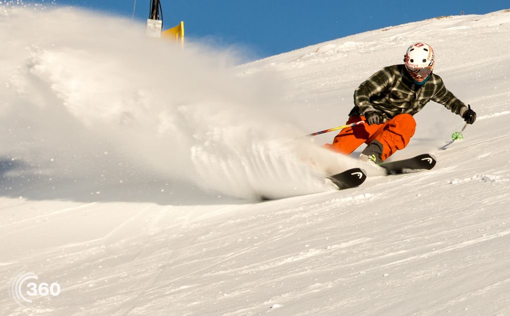 Treble Cone Opening Day, Photo by Keith Stubbs at 360queenstown-wanaka